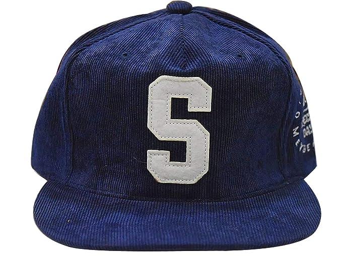 b7660167 AyA Fashion Designer Men's Cotton Adjustable Snapback Blue Hip-Hop ...