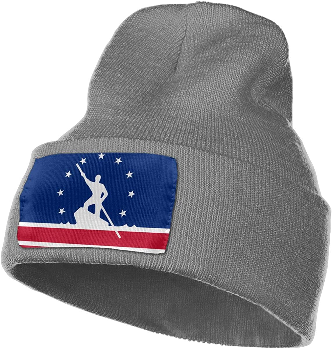 JimHappy Flag of Richmond Hat for Men and Women Winter Warm Hats Knit Slouchy Thick Skull Cap