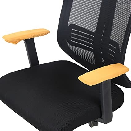 Amazon Com Office Chair Armrest Cover Polyester Removable Rotating