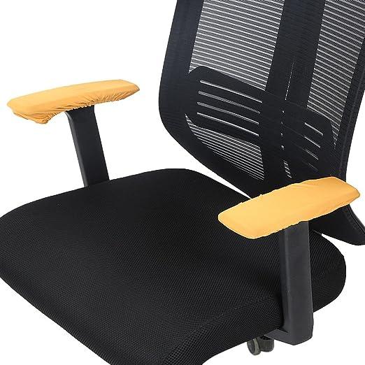 Stuhl Armlehne Abdeckungen Elastisch Beschützer Büro Abnehmbar Polyester