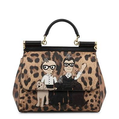 c327dbde440 Dolce Gabbana Women's Dolce & Gabbana Medium 'Sicily' Family/Pets  Leopard-Print
