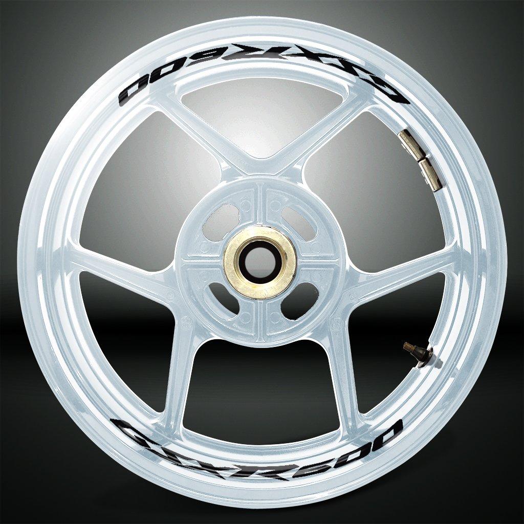 Reflective Silver Motorcycle Inner Rim Tape Sticker Decal for Suzuki GSXR 600