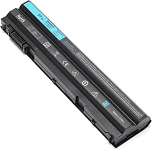 6cell T54FJ New Laptop Battery for Dell Latitude E5420 E5520 E6420 E6430 E6520 E6530 Compatible P/N: M5Y0X 312-1163 312-1325 HCJWT 7FJ92 T54F3 8858X P8TC7 P9TJ0 R48V3
