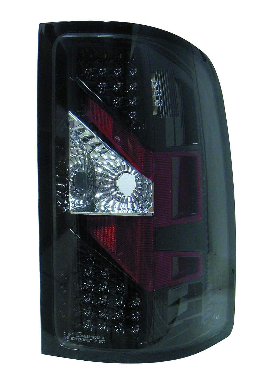 Depo M35 1905p As2 Gmc Sierra Black Led Tail Light 1990 Honda Prelude Wiring Assembly Automotive