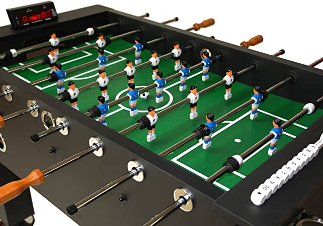 Dema – Futbolín con Contador de goles eléctrico, Color Negro: Amazon.es: Deportes y aire libre