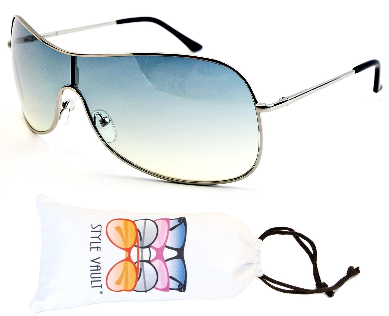 A3054-vp Style Vault Single Piece Flap Lens Sunglasses