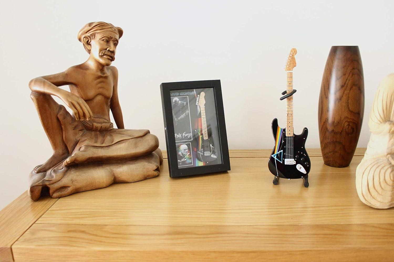 RGM180/Dave Gilmour Dark Side in miniatura chitarra tracolla per chitarra in pelle incluso