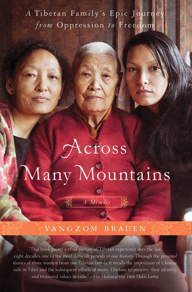 Download Yangzom Brauen'sAcross Many Mountains: A Tibetan Family's Epic Journey from Oppression to Freedom [Hardcover]2011 pdf