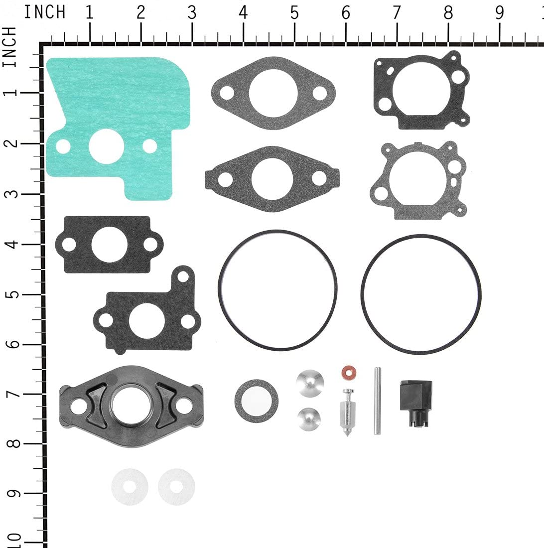 uxcell New Carburetor Rebuild Overhaul Kit Replacement for Briggs /& Stratton 694056 394502 491539