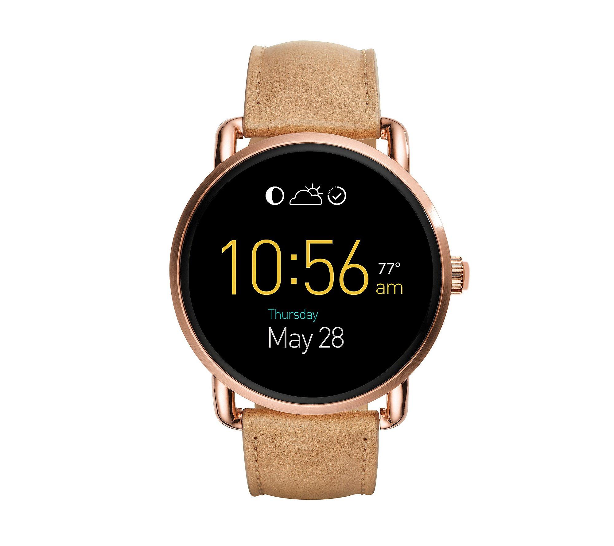 Fossil Gen 2 Smartwatch - Q Wander Light Brown Leather