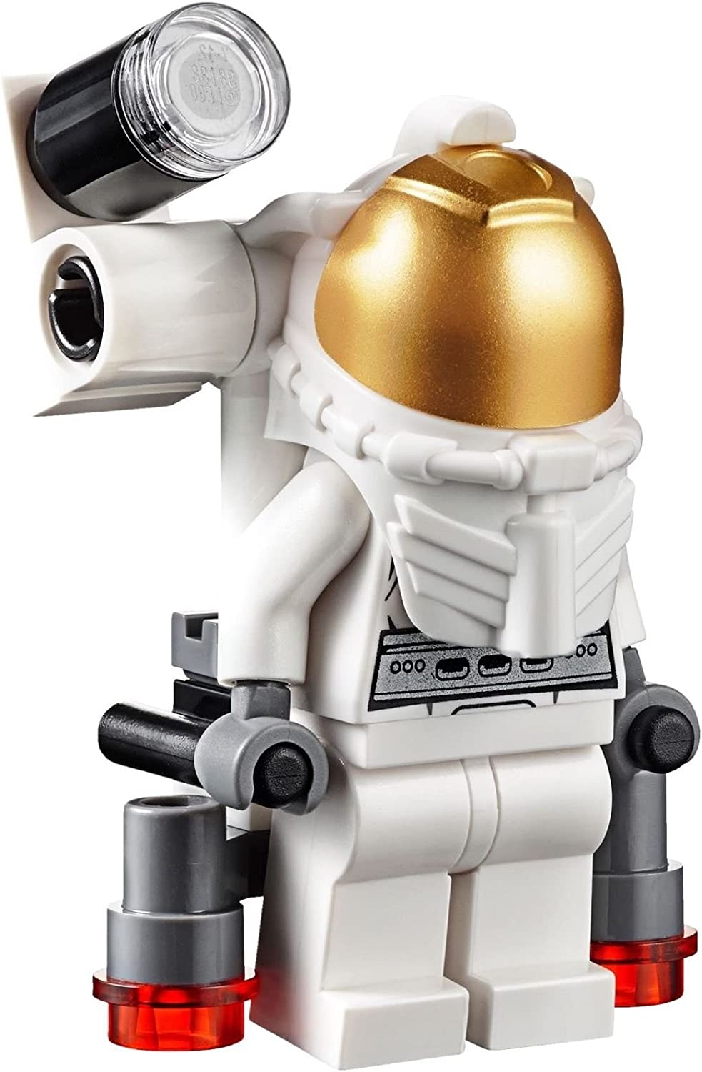 LEGO City MiniFigure: Space Port - Astronaut (with Jetpack and Flashlight) 60077