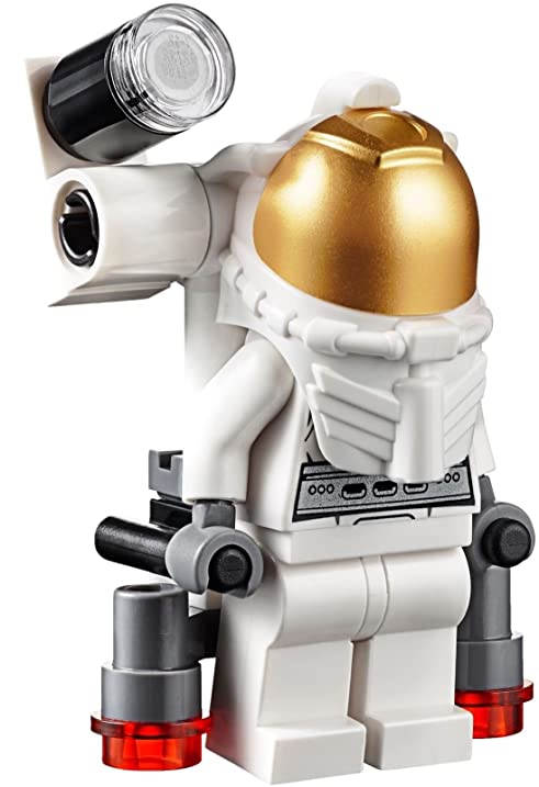 Amazon.com: LEGO City MiniFigure: Space Port - Astronaut (Male w ...