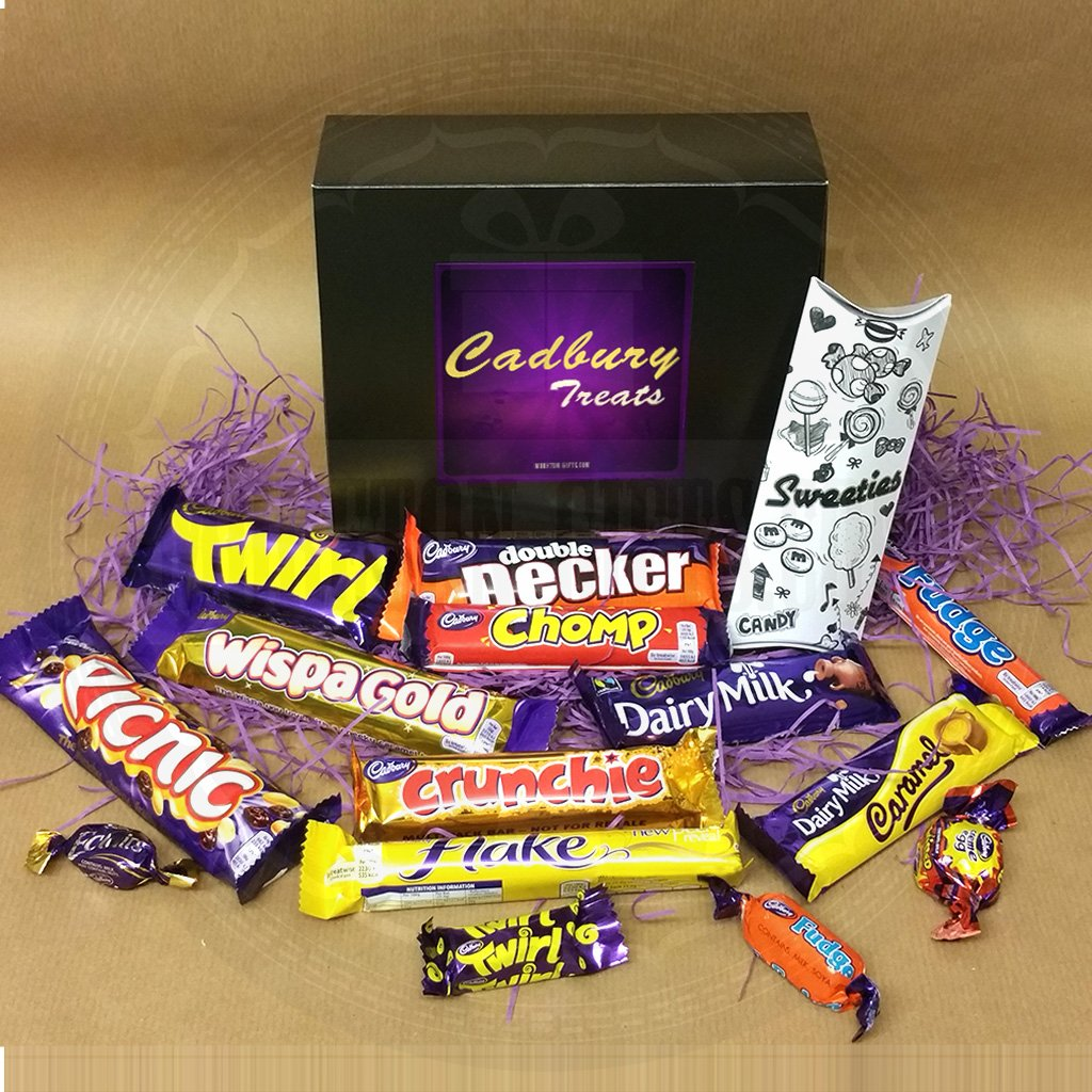 Cadbury Bar Lover's Mega Chocolate Box - Curly Wurly, Wispa Gold ...