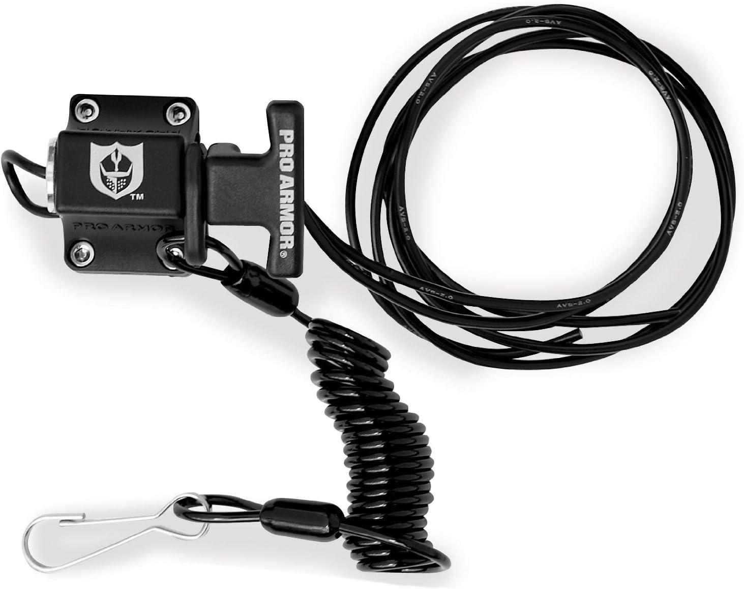 Pro Armor A040021 Black Universal Kill Switch
