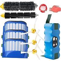 efluky Batería/Kit de Cepillo repuestos para iRobot Roomba 600serie