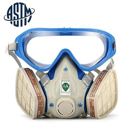 [Certificado ASTM] Máscara de gas de SanSiDo de cobertura completa para la