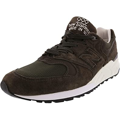   New Balance Men's 999 Asia Suede Sneakers White