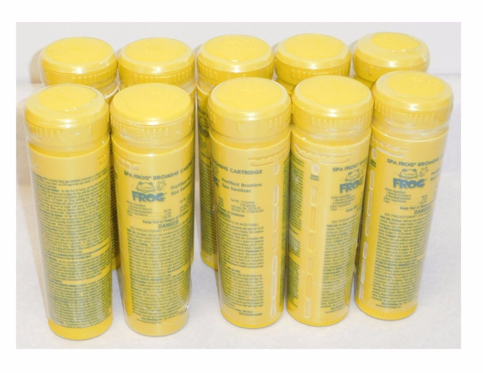 10 King Technology Spa Frog Bromine Cartridges ^#H4345 344Y584H293718 by King Technology