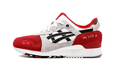 on sale aa578 96d9a official store asics gel lyte 3 red f66a9 9fc1f