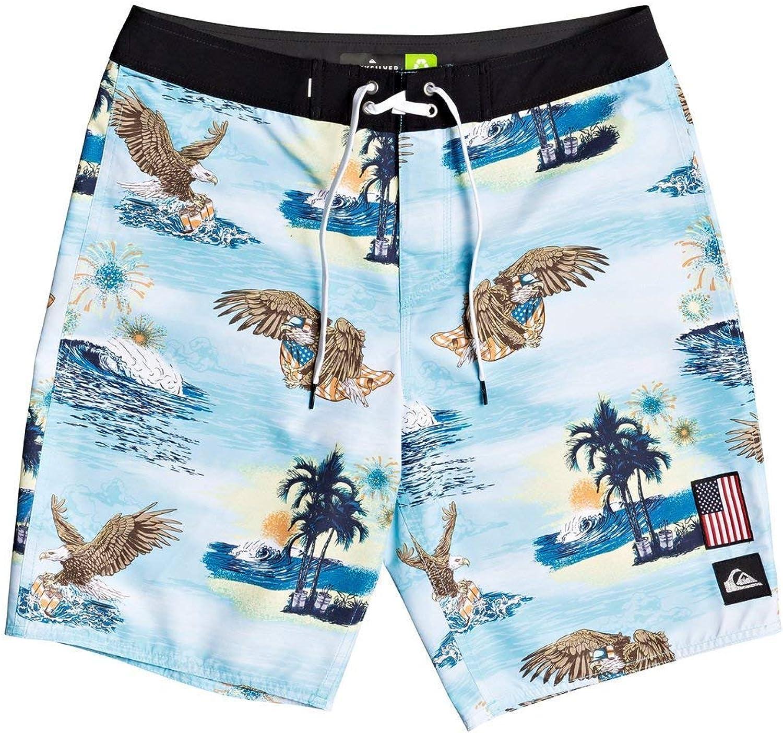 Quiksilver Mens Everyday America 4th of July Boardshort Swim Trunk