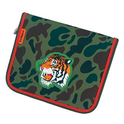 Tiger estuche escolar panel funda stiftet cenizas Muelle ...