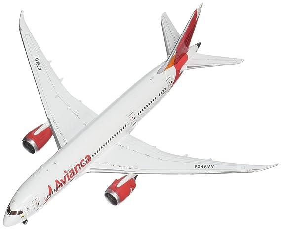 Solid Avianca DREAM LINER BOEING 787 Passenger Airplane Plane Diecast Model