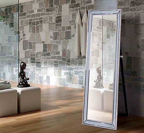 GINER - Espejos de Vestidor Modernos Cristal - Espejo Natalie (150x50): Amazon.es: Hogar