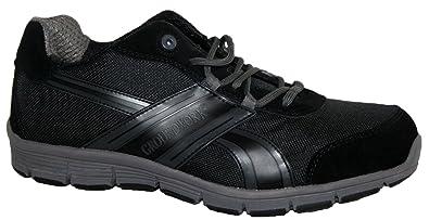 Zapatillas de seguridad de hombre Groundwork, ultraligeras, con puntera de acero, color Negro, talla 47