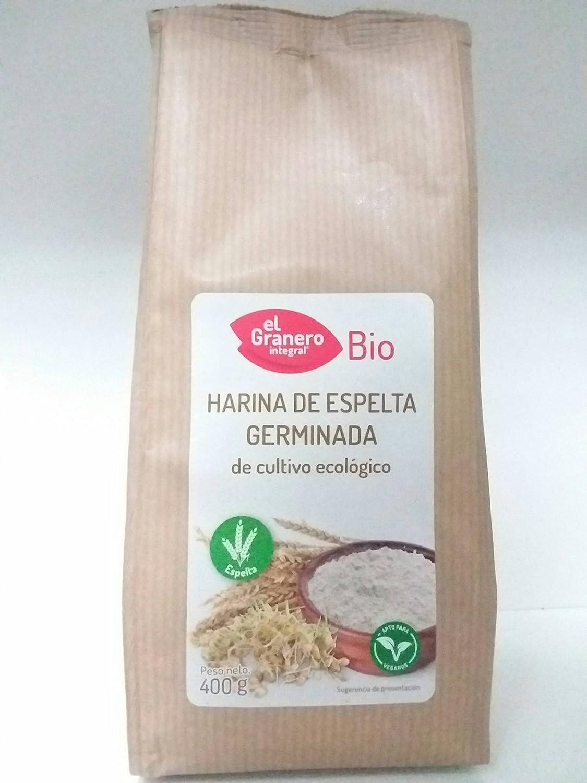 HARINA ESPELTA GERMINADA 400 GR: Amazon.es: Salud y cuidado ...