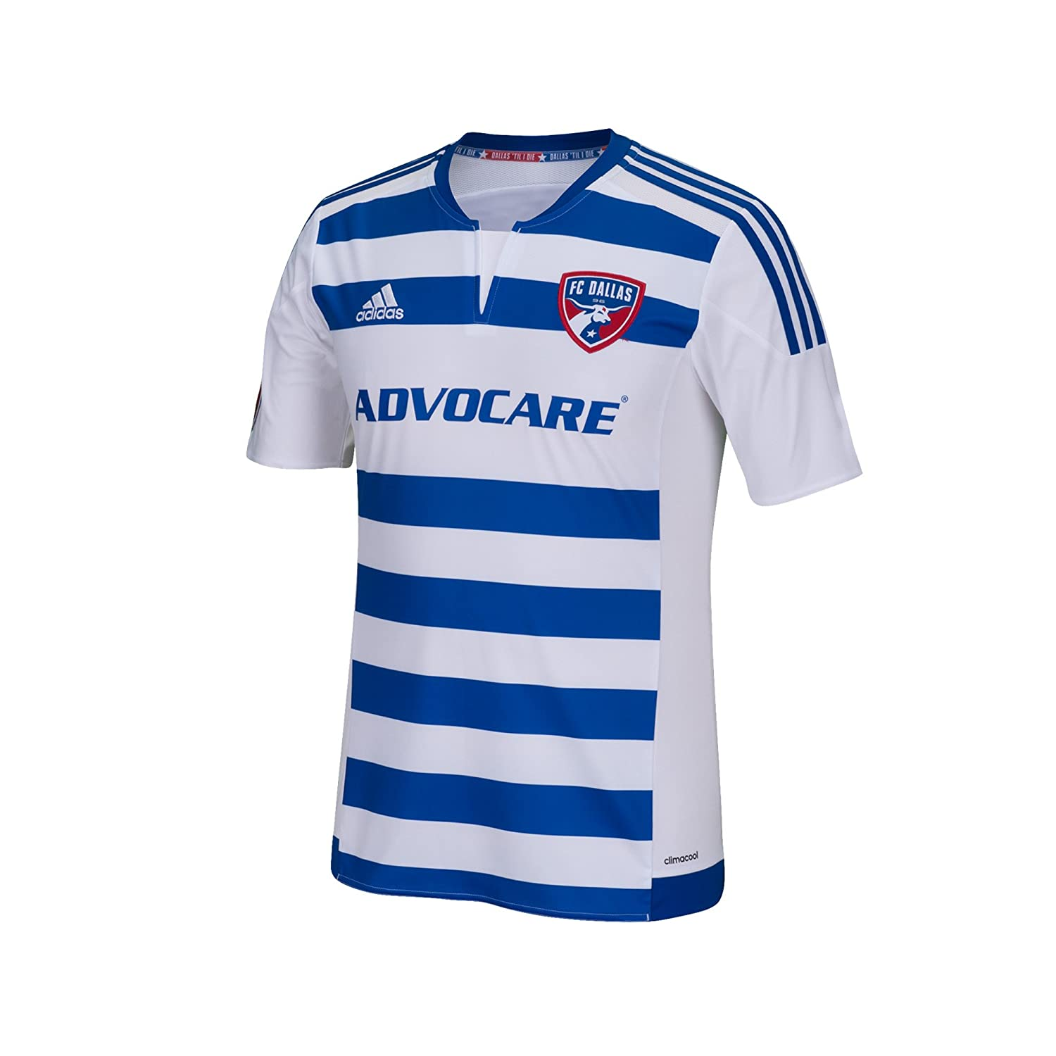d3e24129b00 Amazon.com : MLS FC Dallas Boys Youth Replica Short Sleeve Jersey, Medium,  White : Sports & Outdoors