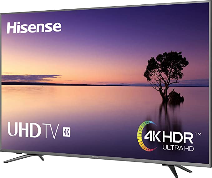 Hisense H75N5800 - Smart TV 75 LCD LED UHD 4K HDR 2400Hz SMART TV WIFI LAN HDMI USB GRABADOR Y REPRODUCTOR MULTIMEDIA: Hisense: Amazon.es: Electrónica