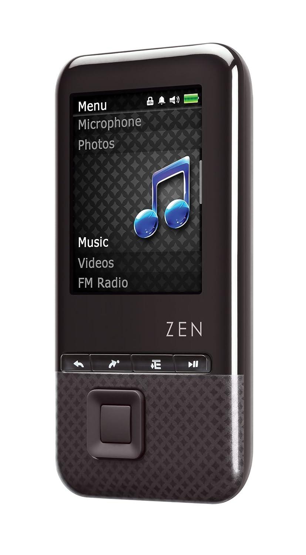 amazon com creative zen style 300 8 gb mp3 and video player black rh amazon com Creative Zen Portable Media Center Creative Zen Touch Install Software