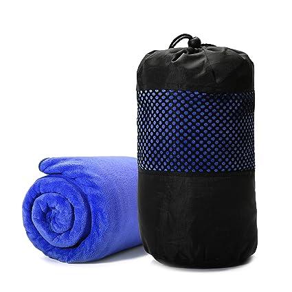 Juego de toallas DUCHA, tezoo 2 piecetowels Set hecho de microfibra Ultra absorbente suave baño