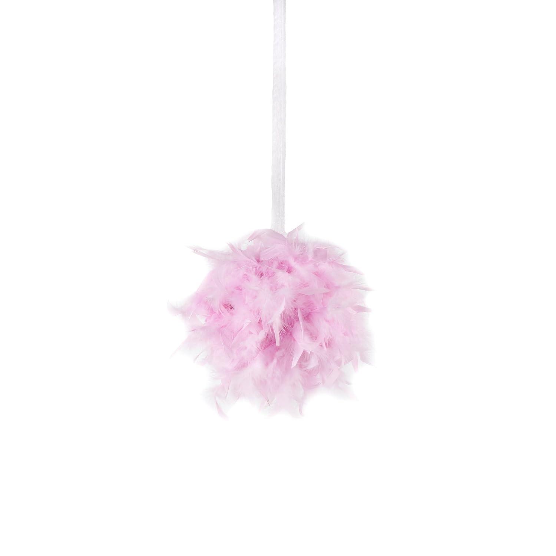 12 Zucker Feather Candy Pink TM - Chandelle Feather Pom Poms