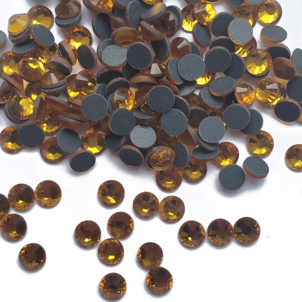 1440 Stones//pkg Jet Black, SS10 Hotfix Rhinestones Finstone Hot Fix Rhinestones 10 Gross