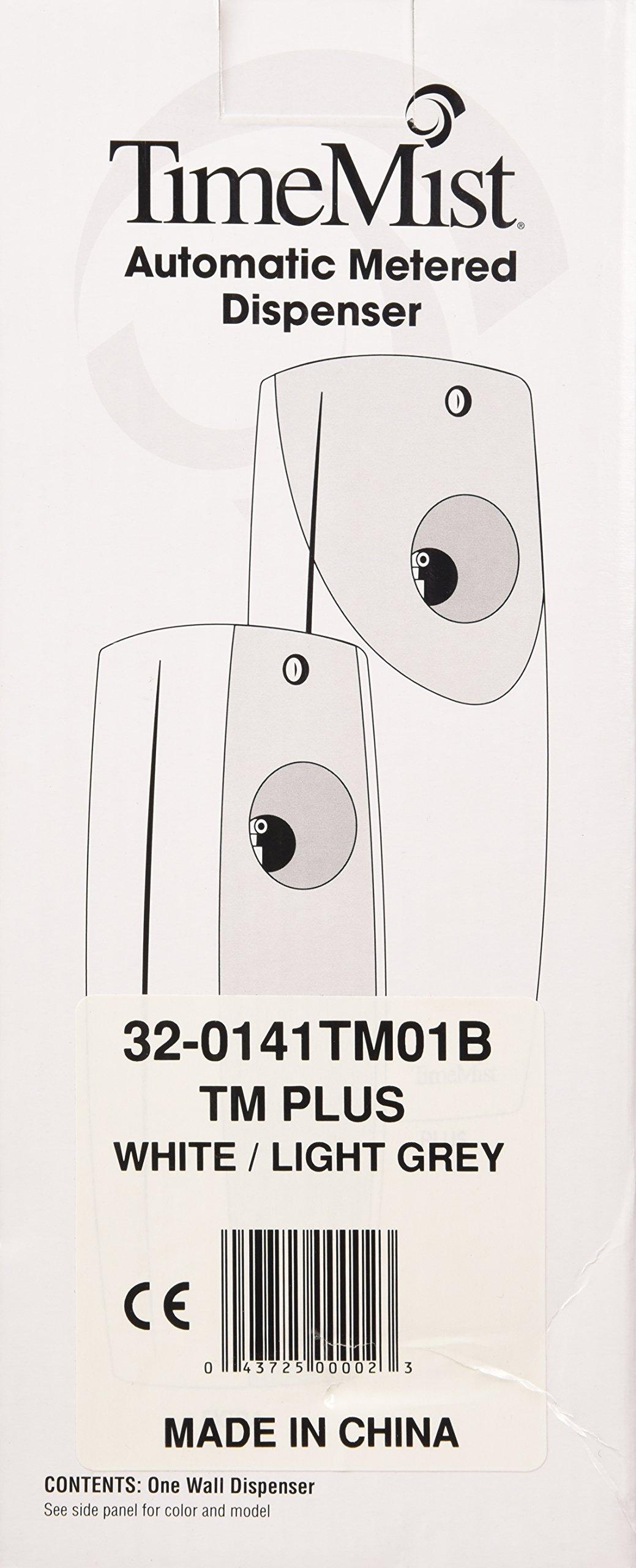 TimeMist 320141TM01B Gray/White Plus Metered Air Freshener Dispenser