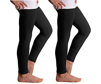 691ae9537fdb5 Popular Girls' Seamless Footless Tights - 2 Pack at Amazon Women's ...