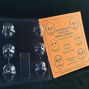 Sugar Skull Mold - Oaxaca Mini Skull
