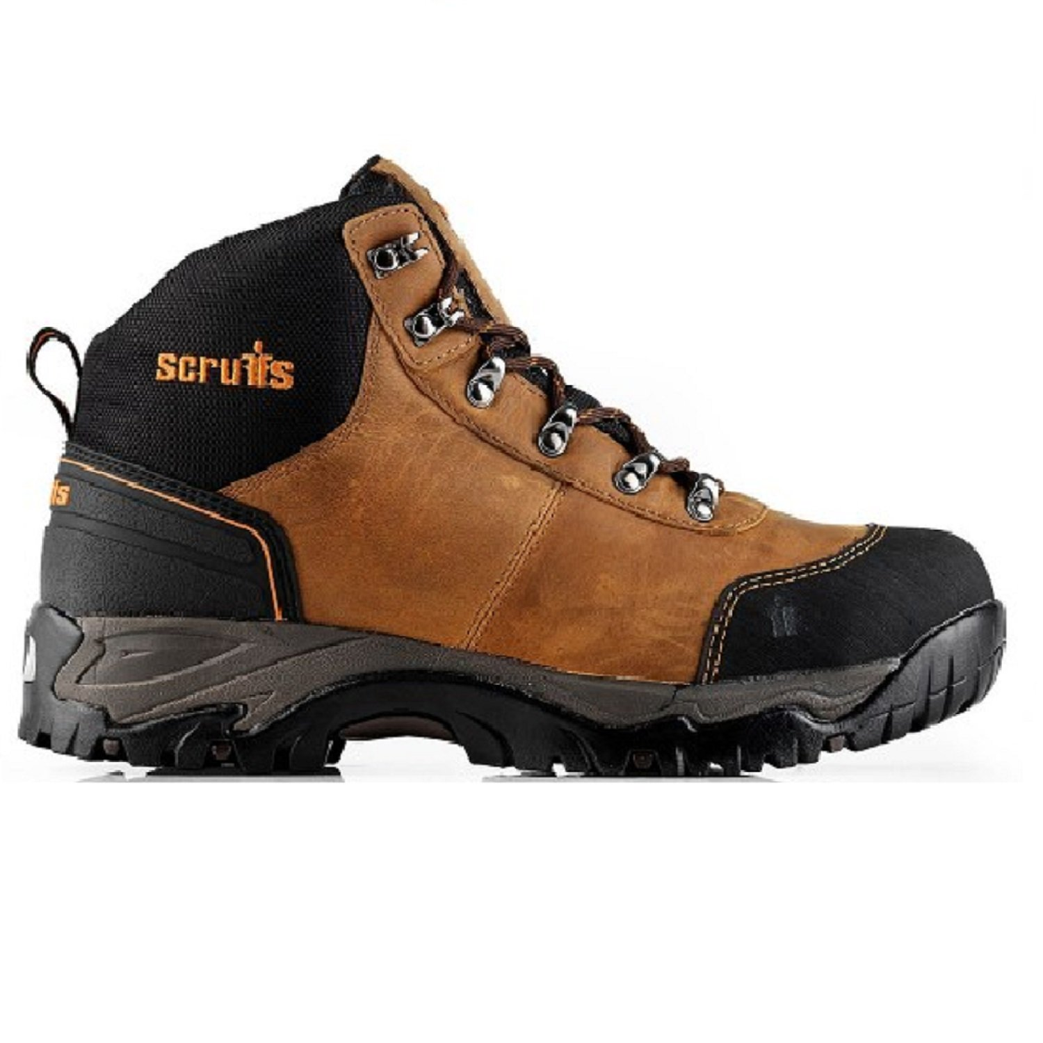 ef05bb19515 Scruffs Assault Safety Hiker Boots (Black or Brown) & Boot Socks