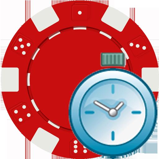 Texas Holdem Blind Timer - Easy Poker Timer - Texas Holdem Tournament Clock - Blind Timer