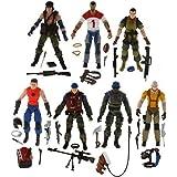 G.I. Joe Exclusive Slaughter's Marauders Battle Set 7 Figure Box Set