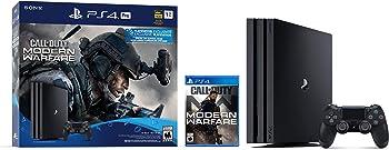 Sony PlayStation 4 Pro 1TB Call of Duty Modern Warfare Console Bundle