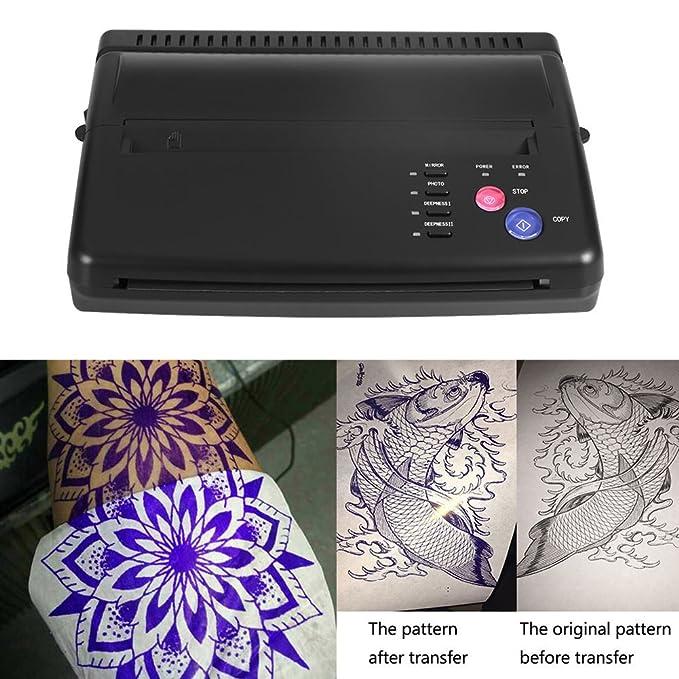 Amazon.com: 110 – 220 V transferencia de tatuaje máquina ...
