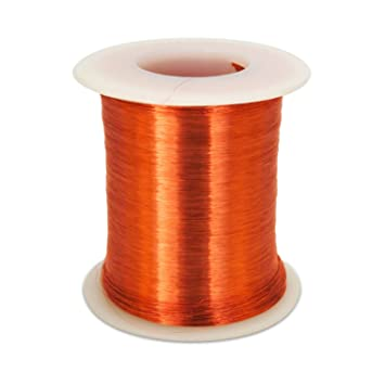 Amazon.com: Golden Age Poly-coated Pickup Coil Wire, 43 AWG: Musical ...
