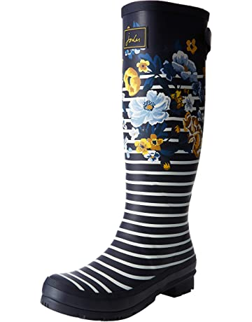 6f60c018e07 Joules Women's Welly Print Wellington Boots