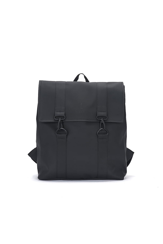 RAINS Unisex-Erwachsene MSN Bag Rucksack (blau), 35.0x39.0x14.0 cm 1213