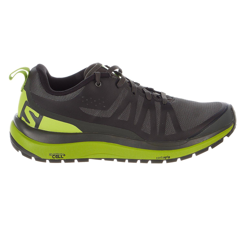 Salomon Odyssey Pro Hiking Shoe - Men's Beluga/Lime Green/Black 10.5