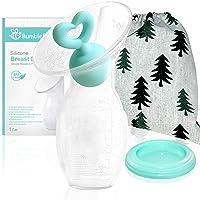 Bumblebee Manual Breast Pump with Breastfeeding Milk Saver Stopper& lid in Gift...