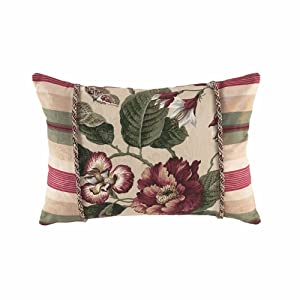 "WAVERLY 13156014X020MUL Laurel Springs Oblong Accent Pillow 20"" x 14"" Multi"
