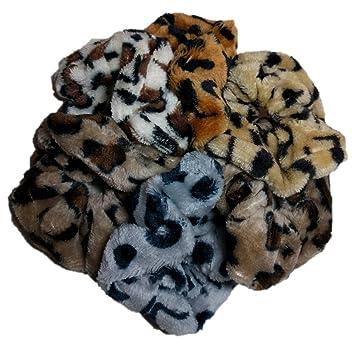9585c44b5e Amazon.com   Leopard Print Scrunchie Set